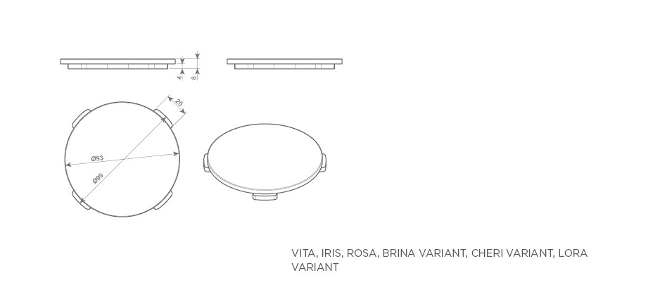 capac ventil Kerrock - 108